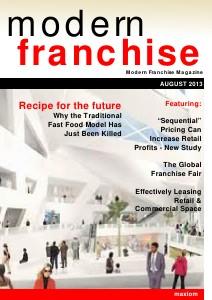 Modern Franchise Magazine August 2013