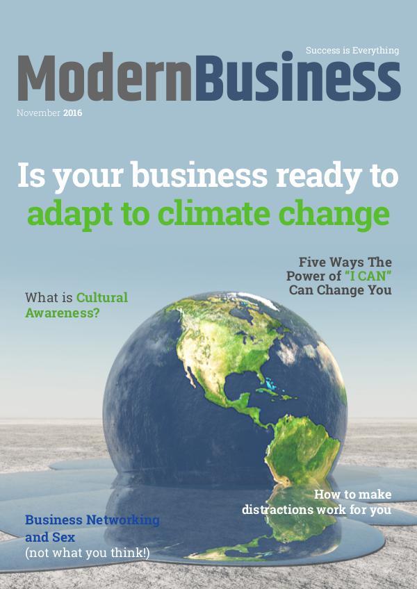 Modern Business Magazine November 2016
