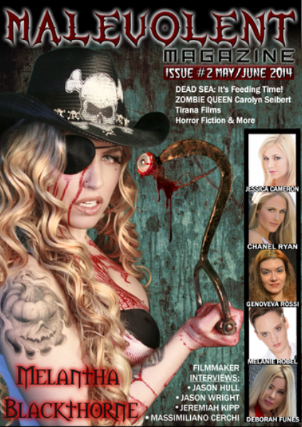 Malevolent Magazine Issue #2 May/June 2014