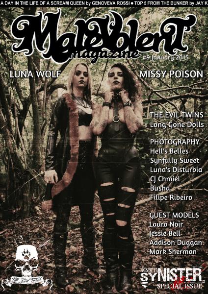 Malevolent Magazine #9 January 2015