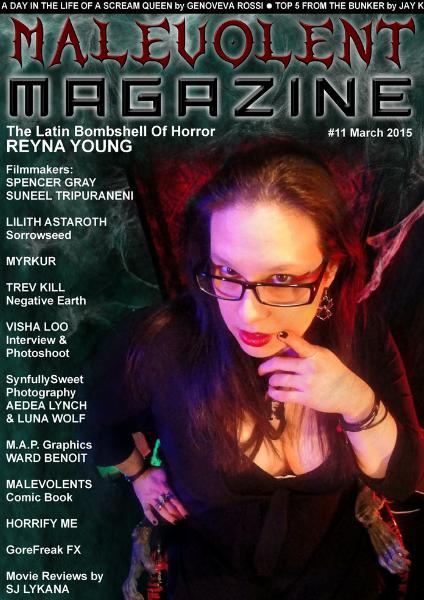 Malevolent Magazine #11 March 2015