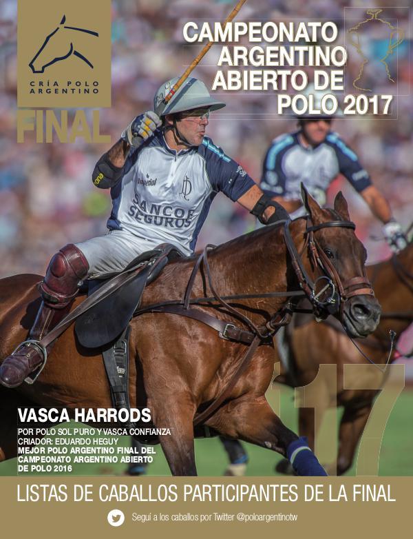 Listas Raza Polo Argentino 2017ListaAACCPPalermoFinalD
