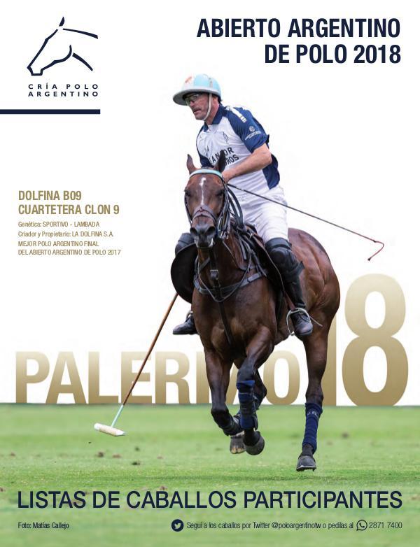 Listas Raza Polo Argentino Palermo18AACCP