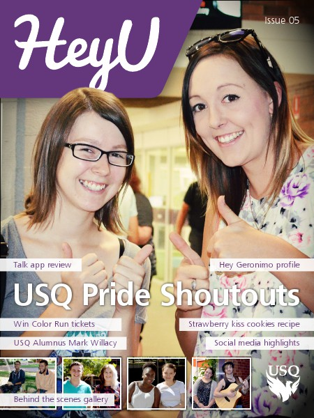 HeyU Issue 5 - 2 May 2014