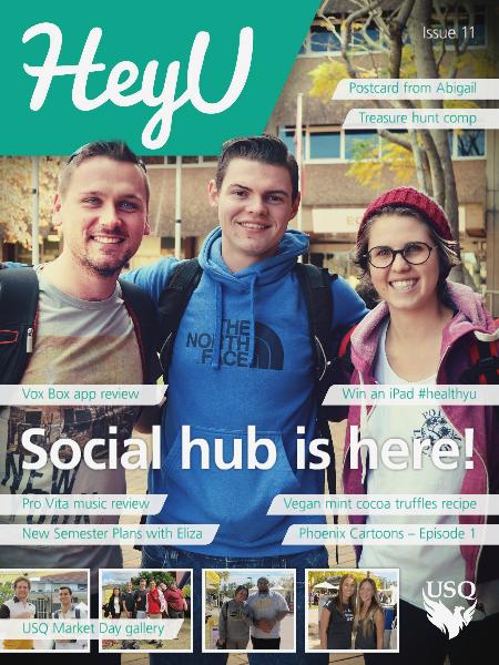 HeyU Issue 11 - 25 July 2014