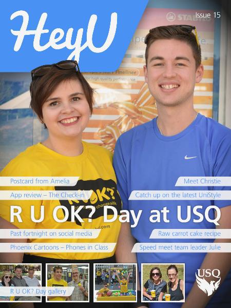 HeyU Issue 15 - 19 September 2014
