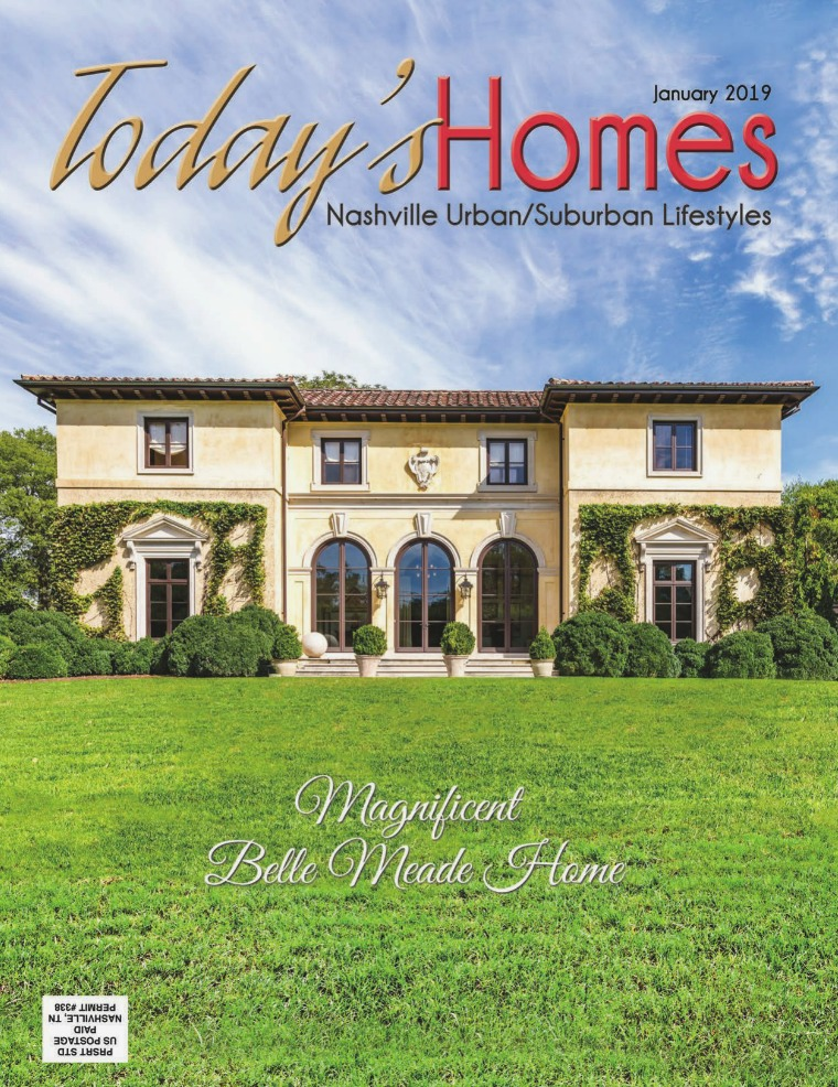 Today's Homes Nashville and Williamson Lifestyle January 2019