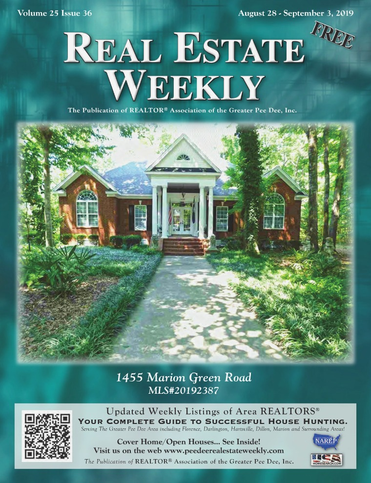 Real Estate Weekly Volume 26 Vol. 25, Iss. 36
