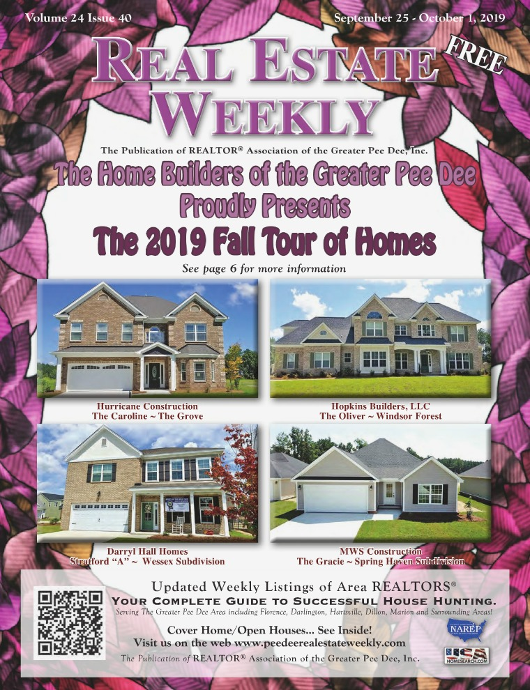 Real Estate Weekly Volume 26 Vol. 25, Iss. 40