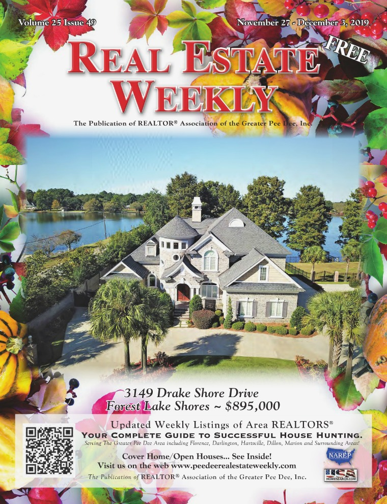 Real Estate Weekly Volume 26 Vol. 25, Iss. 49
