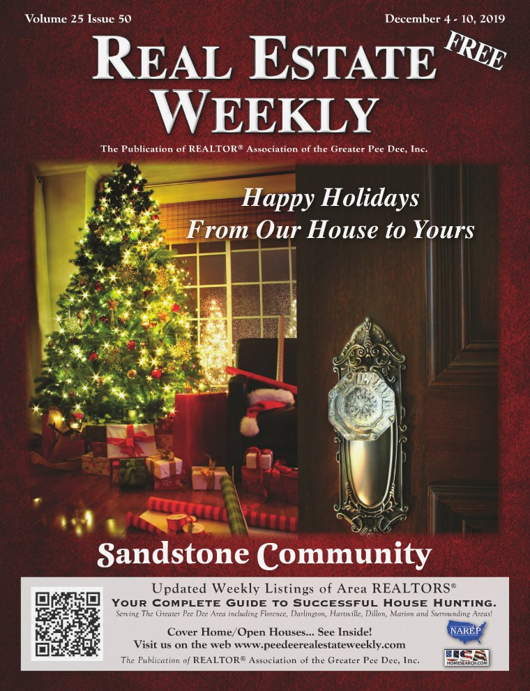 Real Estate Weekly Volume 26 Vol. 25, Iss. 50