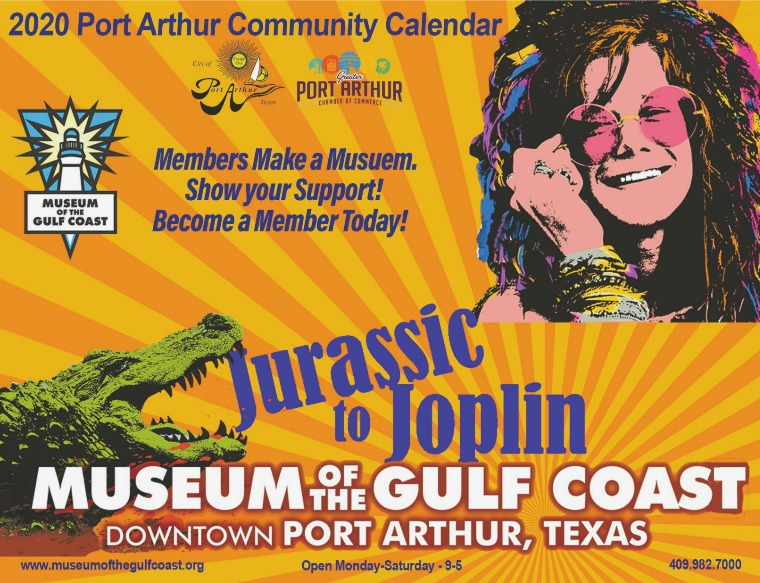 Port Arthur Community Calendar 2020