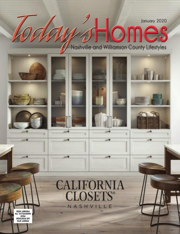 Today's Homes Nashville and Williamson Lifestyle January 2020