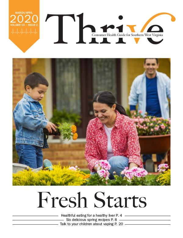 Thrive-Health Guide Southern West Virginia March/April 2020