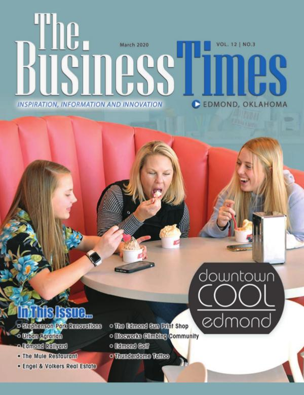 Business Times of Edmond, Oklahoma March 2020