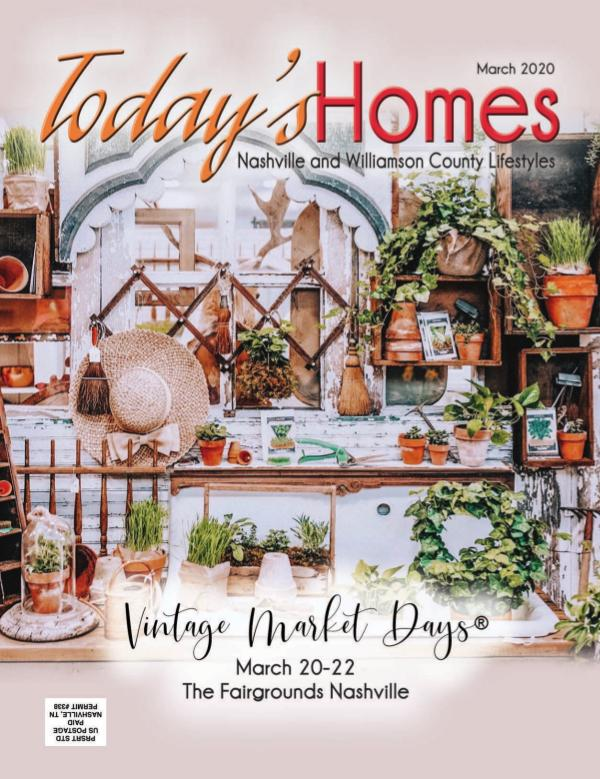 Today's Homes Nashville and Williamson Lifestyle March 2020