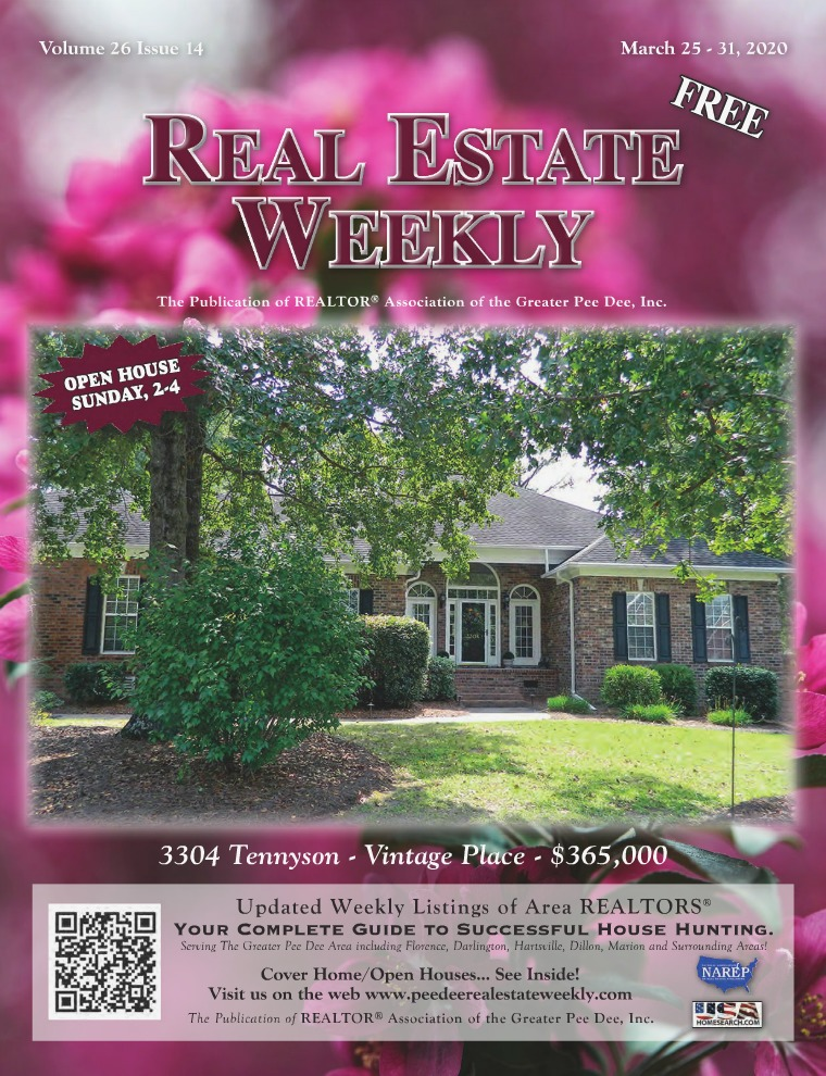 Real Estate Weekly Volume 26 Vol. 26, Iss. 14