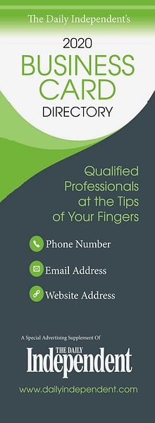 The Daily Independent Business Card Directory