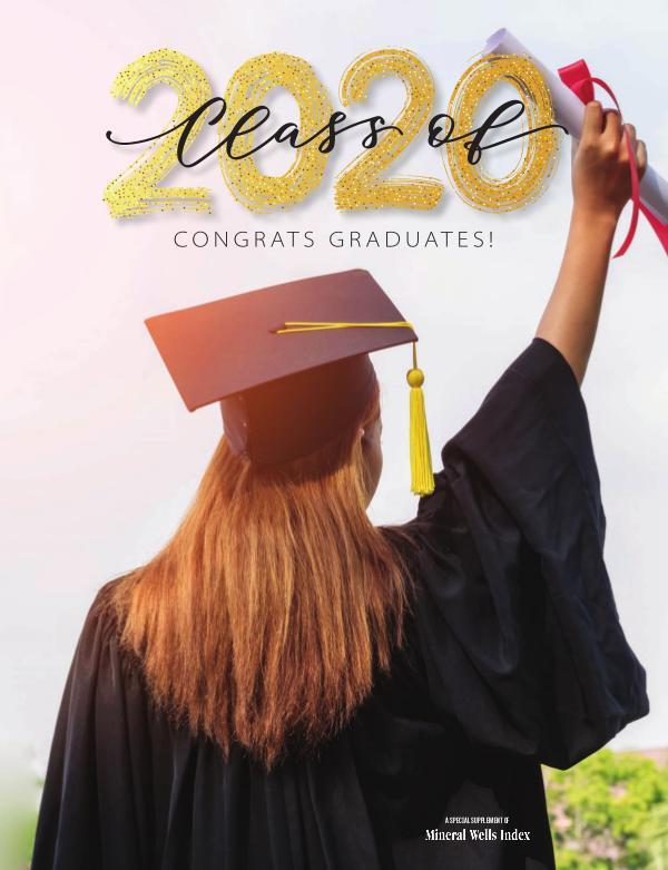 Palo Pinto County Graduation Class of 2020