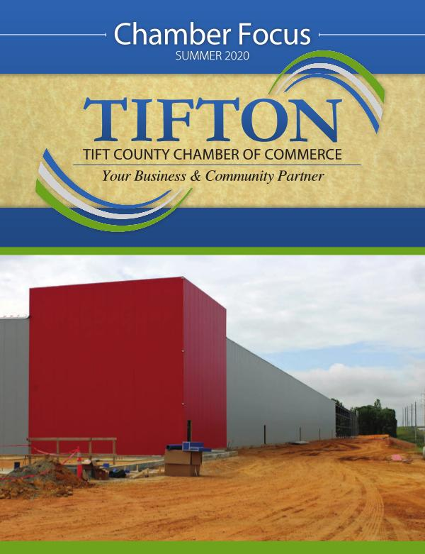 Tifton Chamber Focus Summer 2020
