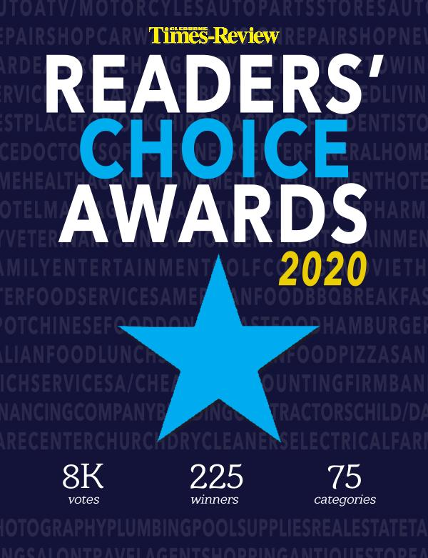 Cleburne Times-Review Reader's Choice 2020