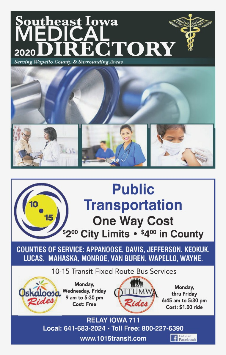 Southeast Iowa Medical Directory 2020