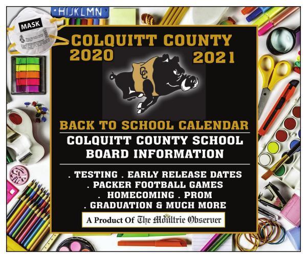 Moultrie Calendar 2020/2021