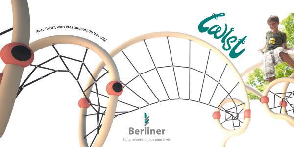 Équipements récréatifs Brochure Twist de Berliner