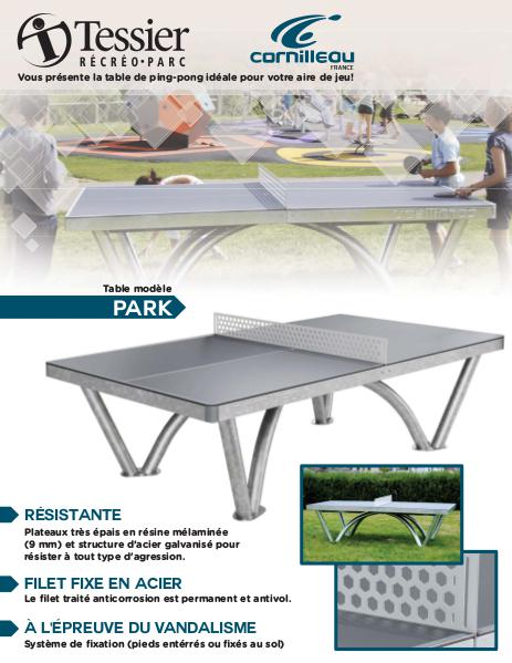table de ping pong en b ton tessier rp tessier rp. Black Bedroom Furniture Sets. Home Design Ideas