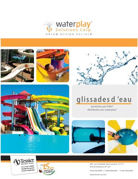 Équipement aquatique Structure multi-activite - Glissades d'eau