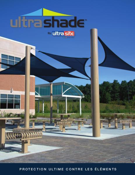 Mobilier et accessoires urbains Abri Ultra Shade Catalogue