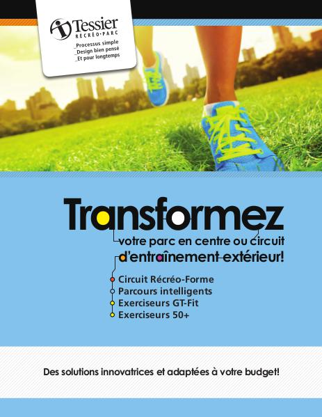 Équipements d'entraînements Entrainement exterieur (Brochure)