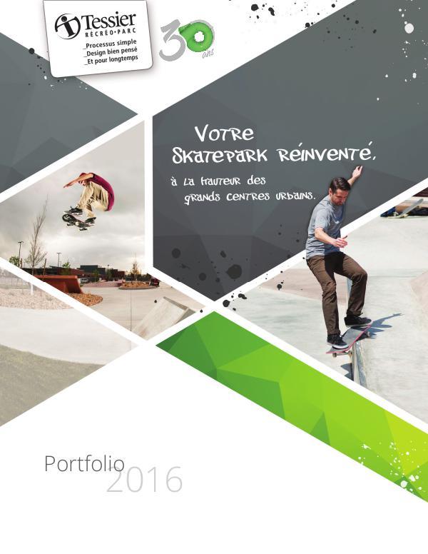 Équipements récréatifs Skatepark - Catalogue