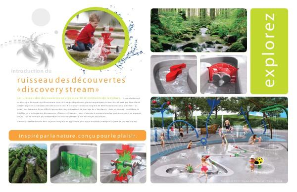 Équipement aquatique Ruisseau des découvertes