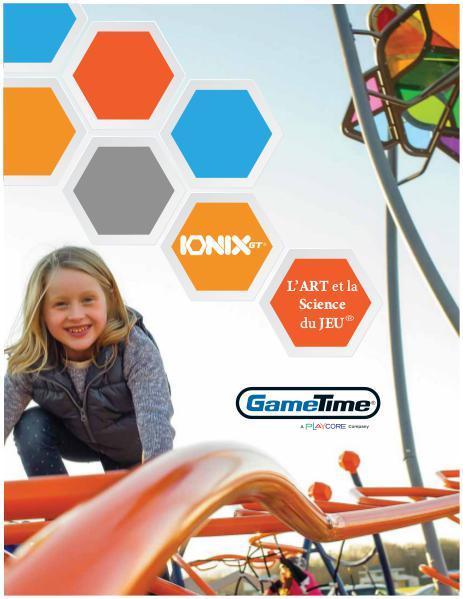 Équipements récréatifs Catalogue - Ionix 2016