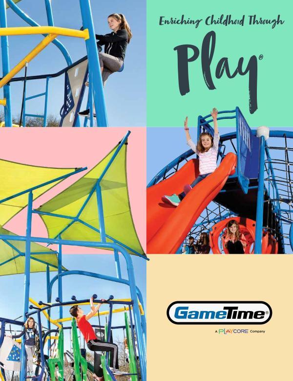 Équipements récréatifs Catalogue - GameTime 2017