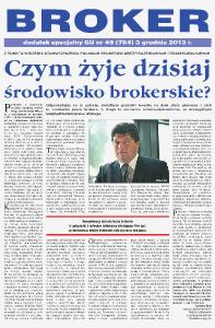 Gazeta Ubezpieczeniowa - dodatki specjalne nr 49/2013