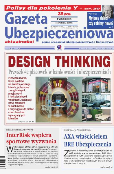 Gazeta Ubezpieczeniowa - wydanie elektroniczne nr 38/2014