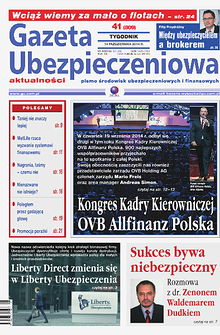 Gazeta Ubezpieczeniowa - wydanie elektroniczne