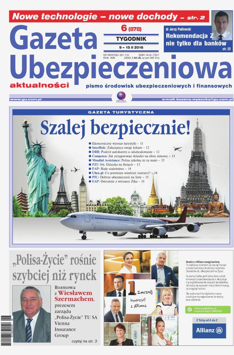 Gazeta Ubezpieczeniowa - wydanie elektroniczne nr 6-2016