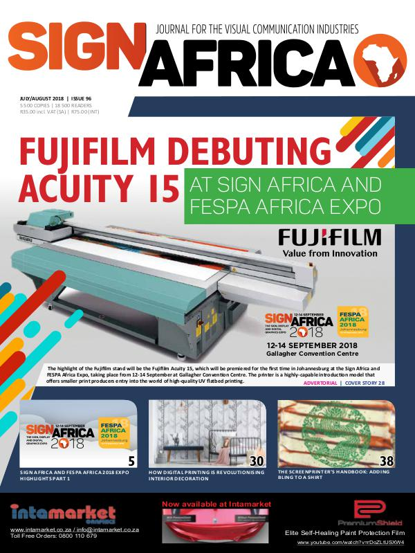 Sign Africa Journal July / August 2018