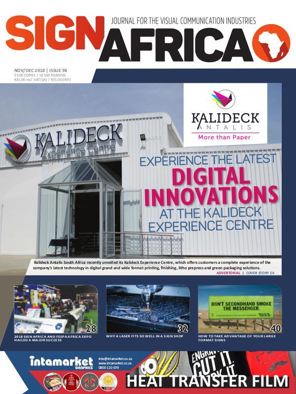 Sign Africa Journal November / December 2018