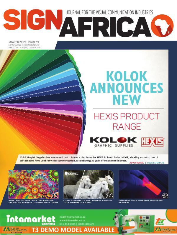 Sign Africa Journal January/ February 2019