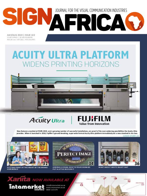 Sign Africa Journal July / August 2019