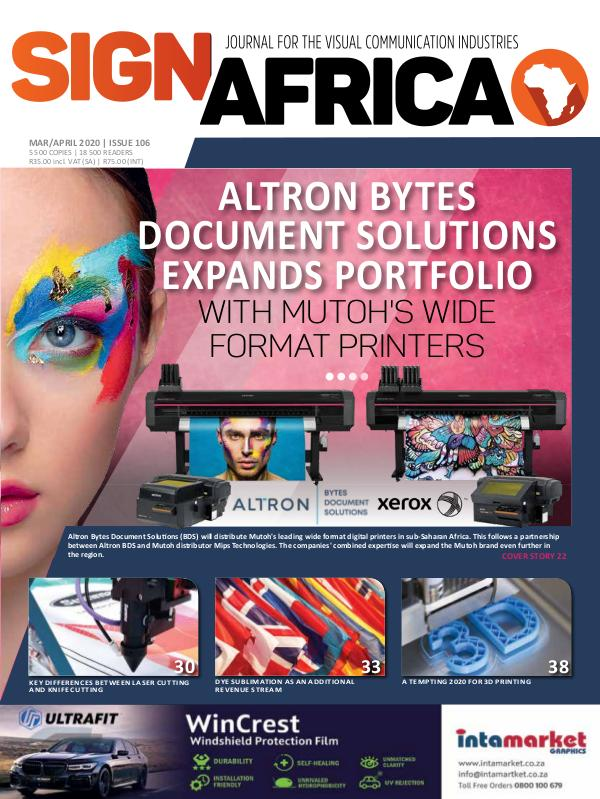 Sign Africa Journal March / April 2020