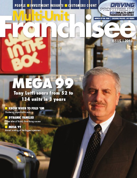Multi-Unit Franchisee Magazine Issue I, 2013
