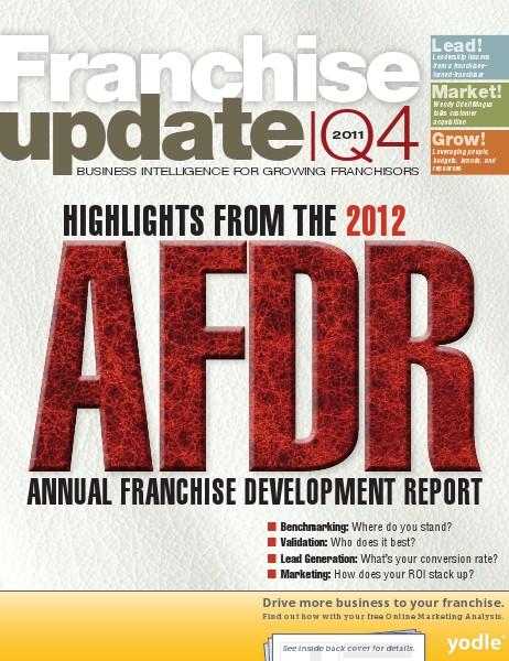 Franchise Update Magazine Issue IV, 2011