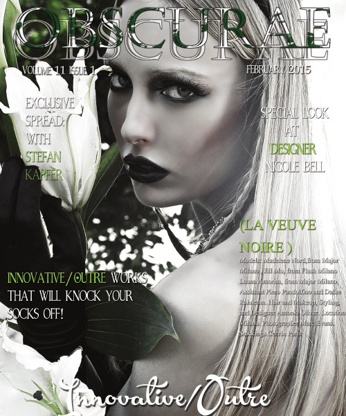 Obscurae Magazine Volume 11 Issue 1: Innovative/Outre