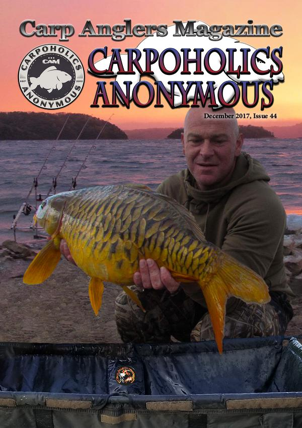 Carp Angler Magazine CAM, Carpoholic Anonymous Issue 44, December 2017