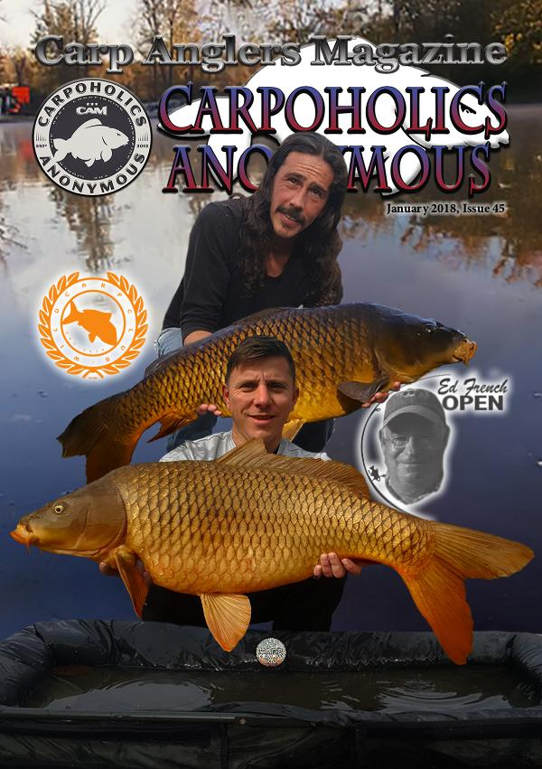 Carp Angler Magazine CAM, Carpoholic Anonymous Issue 45, January 2018